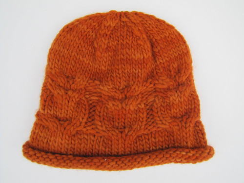 Comfort Wool Co Owl Cable Hat
