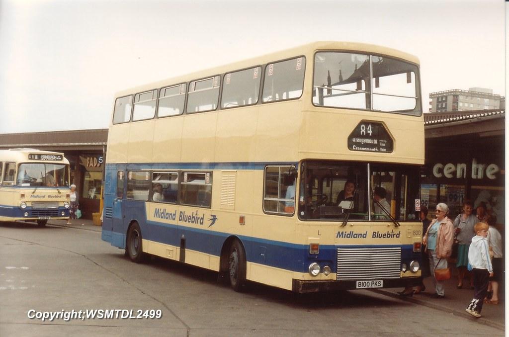 800  L B100 PKS  MCW Metrobus  Ar AL. Callendar Riggs Bus Station FALKIRK