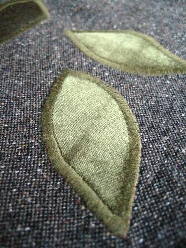 Wrap skirt detail
