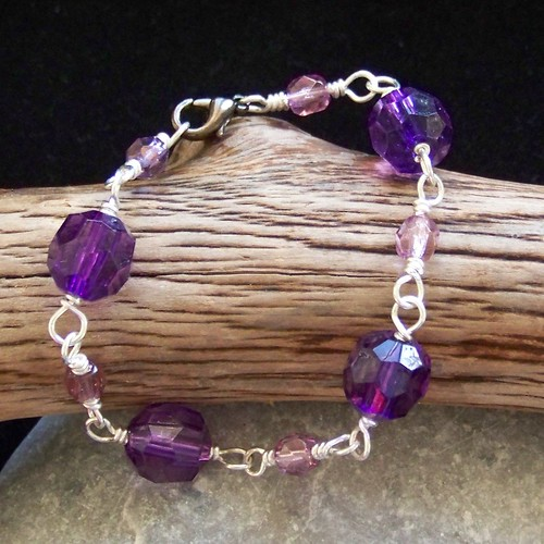 Purple People Eater - bracelet