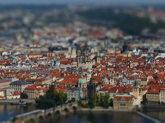 Prague city view (nozzo!) Tags: city prague shift ponte carlo tilt mala strana