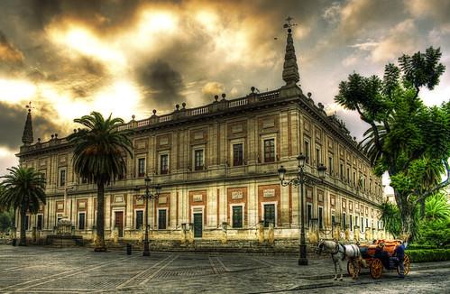 Archivo General de Indias.Sevilla by Zú Sánchez