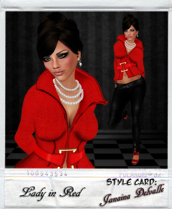 GIA Style Card // Lady in Red