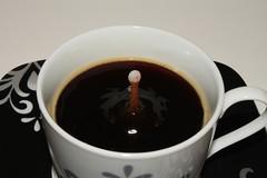 Tropfen 3 (ff137) Tags: macro cup water tasse coffee milk drops cafe kaffee drop espresso splash cappuccino tropfen milch spritzer