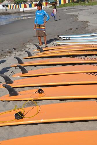 Lakbay Norte Surfers in La Union
