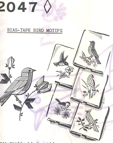 Bias Tape Birds
