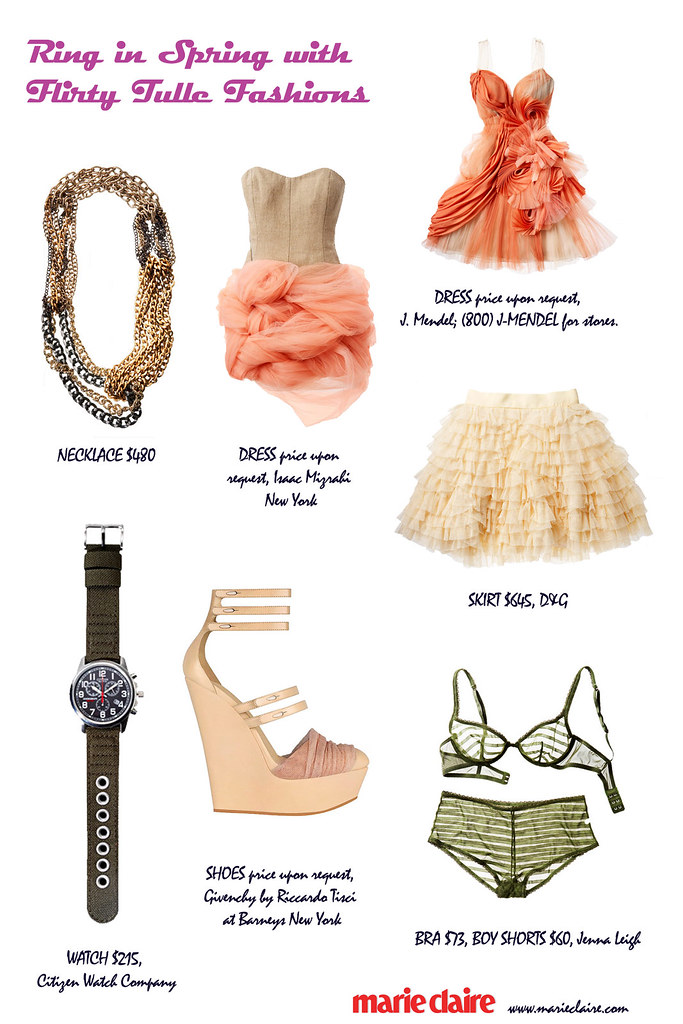 Ring in Spring with Flirty Tulle Fashions 1