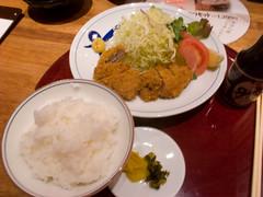 遊食菜彩いちにいさん:黒豚ヒレカツセット