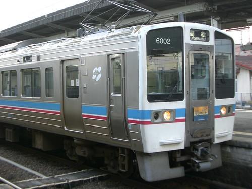 """6000系電車快速サンポート/6000 Series EMU Rapid Service Train """"Sunport"""""""