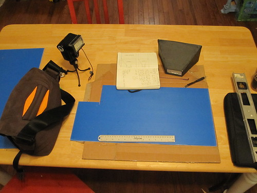 DIY collapsible softbox