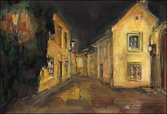 070210 (alesmotyl) Tags: painting prague drawing oldtown  urbansketches
