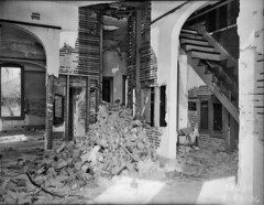 House interior after fire, 1936 (Seattle Municipal Archives) Tags: seattle fire 1930s interiors queenanne fires rubble disasters seattlemunicipalarchives