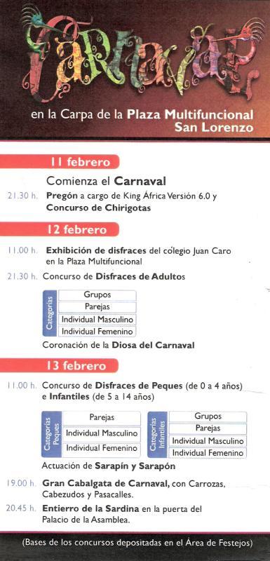 Carnaval 2010 Melilla
