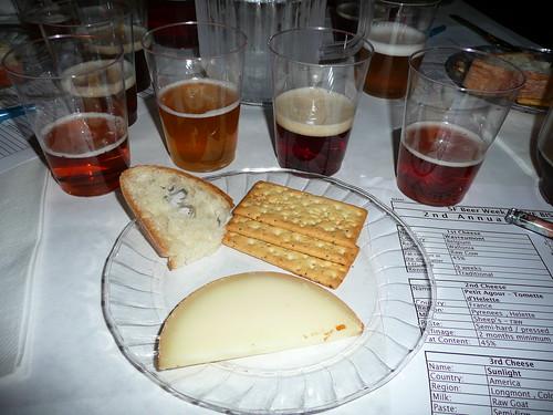 Pairing #2: Moylan's Hefe, Eel River Amber, Mad River Jamaica IPA & Sierra Nevada Pale Ale