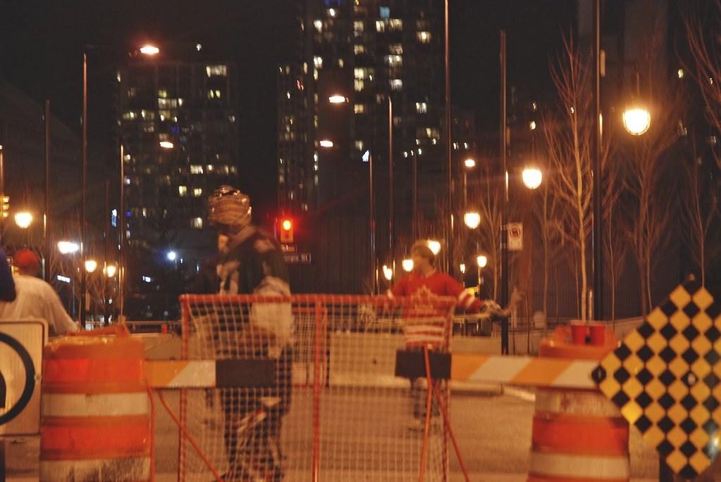Hockey Night in Yaletown