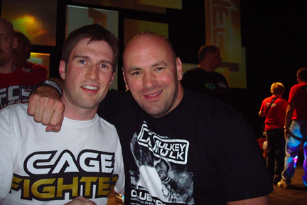 Ryan-Mapes-and-Dana-White by fightlaunch, on Flickr