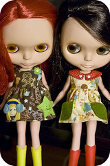 custom buttonarcade dresses