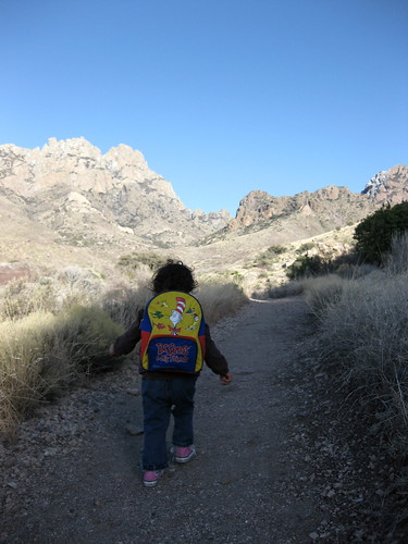 Addie on the La Cueva Loop