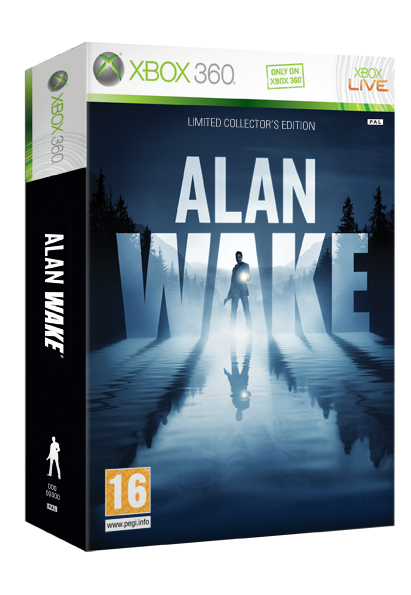 Alan Wake box XBox 360