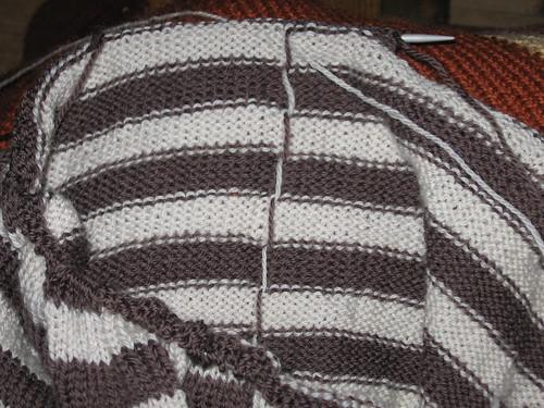 Raglangenser med striper