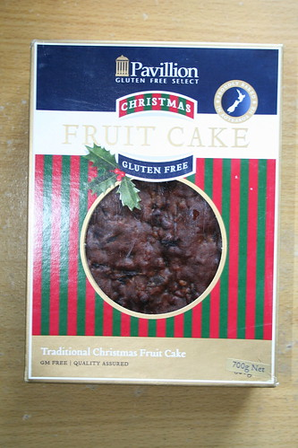 2010-01-30 - Pavillion Gluten Free Christmas Cake - 01 - Box
