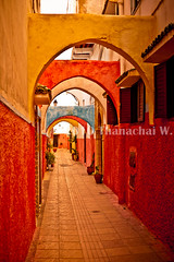 Colorful passageway, the Old Medina - Rabat, Morocco (Beum Gallery) Tags: morocco maroc getty gettyimages rabat oldmedina flickraward   anciennemdina   availableforlicenseongettyimages