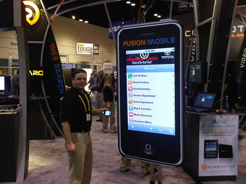ClickMotive Booth NADA 2010