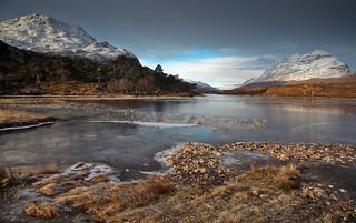 Loch Clàr, Wester Ross. 20/02/10