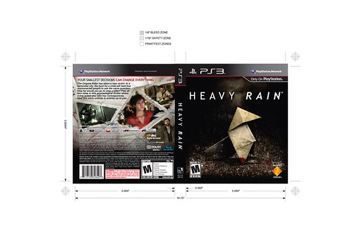 Heavy Rain Alternate Cover