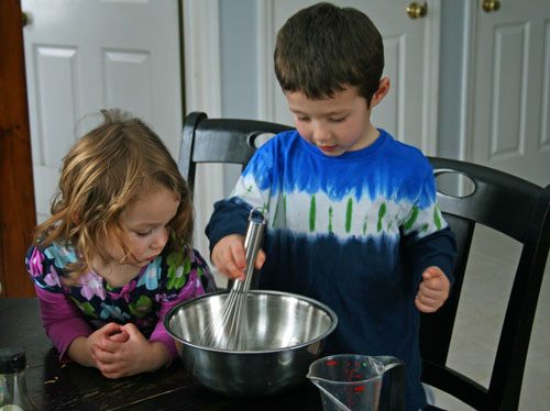 Cooking with Kids: Chopped Salad Recipe