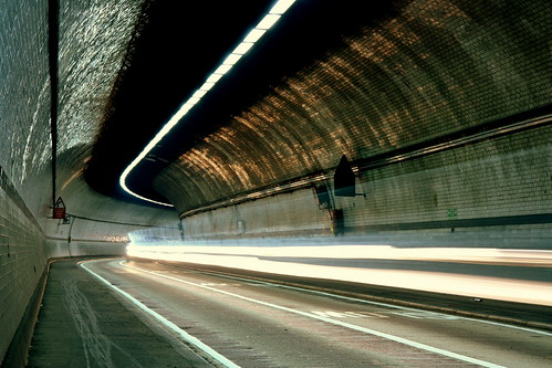 Rotherhithe Tunnel By Night #3