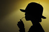Drink like M.J. (dirk.drie) Tags: michaeljackson schaduw hoed faas januari2010