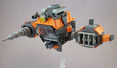 The Rusted Cruncher (Titolian) Tags: trash star fighter lego space rusted clunker starfighter cruncher