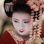 flower / people / portrait / face / japanese / beauty : maiko, kyoto japan / canon 7d  日本・京都 舞妓  梅らくさん