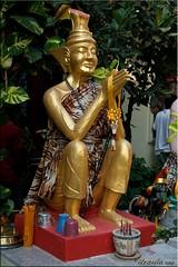 Golden Hermit (Ursula in Aus) Tags: tattoo thailand yantra tattooing waikhru nakhonpathom นครปฐม ประเทศไทย sakyant tattoofestival รอยสัก watbangphra nakhonchaisi earthasia nakhonchaisri totallythailand วัดหลวงพ่อเปิ่น ครู รูปสัก วัดบางพระ ลายสัก สักยันต