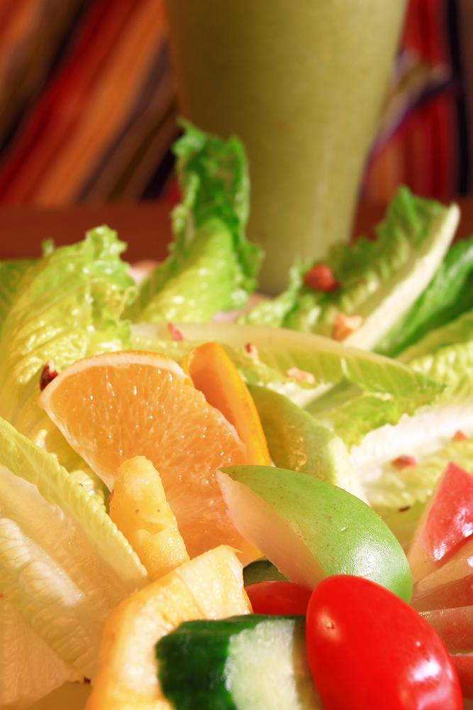 連生菜沙拉都超正