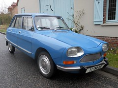 CITROEN AMI 8 (1969) (xavnco2) Tags: auto old blue france classic cars car vintage citron voiture historic oldtimer common classiccars bleue picardie epoca vecchia somme ami8 classica vecchie storiche gavap montignysurlhallue