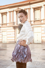 Altrusmo. (jinwesst) Tags: portrait girl fashion model nikon moda makeup modella d90 altrusmo
