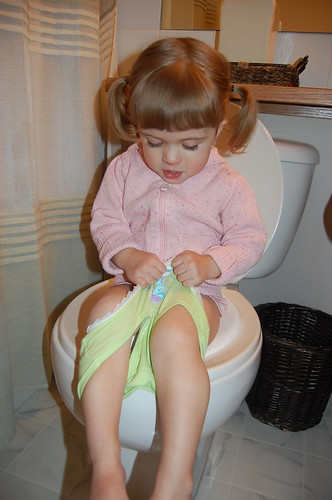 Potty trained!