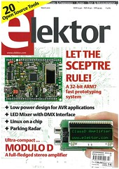 Elektor March 2010 cover