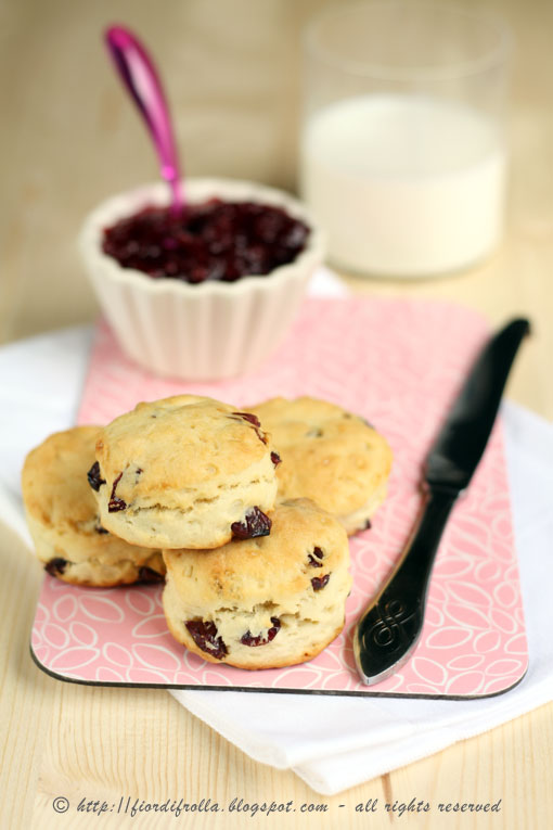 Cranberries Scones