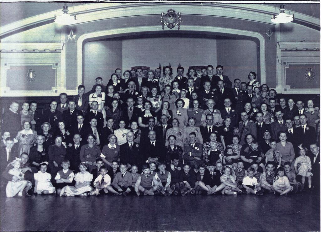 Blair Street Reunion, 1950.