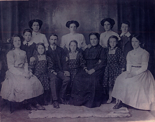 Dougherty Family, 1911.