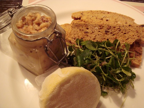 Potted Shrimp, Baby Watercress, Croutons, Lemon