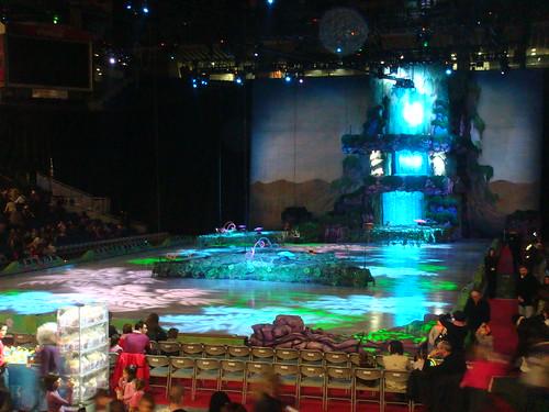 Vista interior del Palacio de Deportes