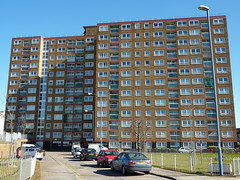 Littlecross House, Bristol (lydia_shiningbrightly) Tags: uk england bristol apartments balcony flats highrise housing towerblock southville socialhousing councilhousing housingestates bristolcitycouncil