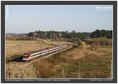 CP 4007 | Vila Nova de Anos | 120 | 13.02.2010 (Joao Joaquim) Tags: portugal fiat alfa cp comboios 4000 pendolino 4007 passageiros pendular anos linhadonorte