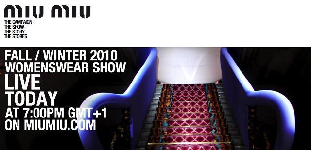 Miu Miu Live show