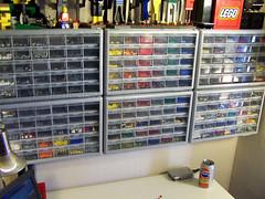 Drawers (Dave Shaddix) Tags: lego storage pointless ocd sorting wasteoftime butstillkindacool couldbeoutsidedoingsomethingbetter