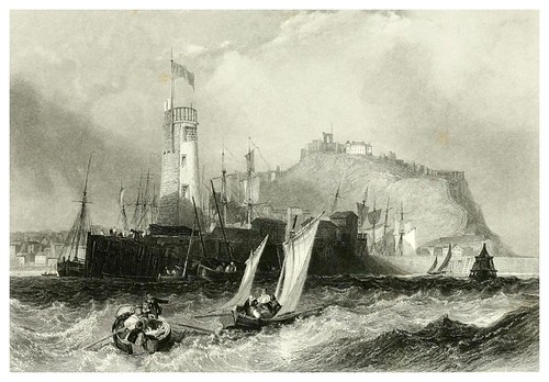 005-Scarborough-The ports, harbours, watering-places, and picturesque scenery of Great Britain 1840